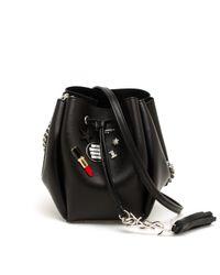 Saint Laurent | Black Shoulder Bag | Lyst