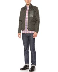 Shipley & Halmos | Green Dean Quilted Jacket for Men | Lyst