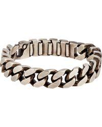 Werkstatt:münchen | Metallic Chain Bracelet for Men | Lyst