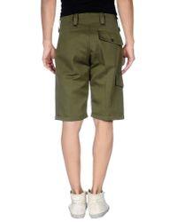 Valentino Green Bermuda Shorts for men
