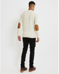 Bellfield | Natural Akrane Jumper Cream for Men | Lyst