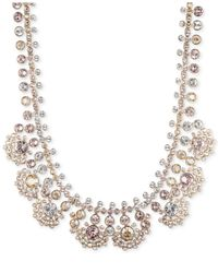 Givenchy - Metallic Gold-Tone Silk Drama Collar Necklace - Lyst