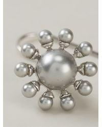 Vivienne Westwood Metallic Orb Earrings
