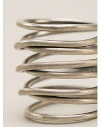 Kelly Wearstler Metallic Small Twisted Ring