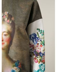 Emanuel Ungaro - Multicolor Madame Du Barry-Print Sweatshirt - Lyst