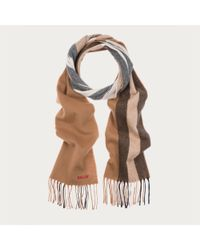 Bally Natural Trainspotting Scarf for men