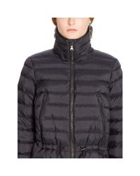 Ralph Lauren | Black Mockneck Down Jacket | Lyst
