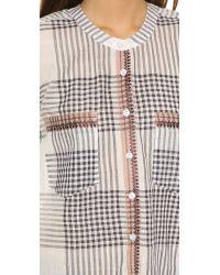 Antik Batik Cassy Button Down Shirt - Black