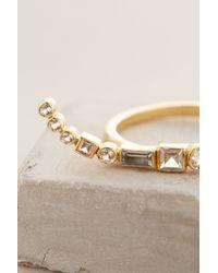 Elizabeth and James | Metallic Marisol Ring | Lyst
