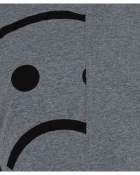 Marc By Marc Jacobs - Gray Sad Face Panelled Jersey Dress - Lyst