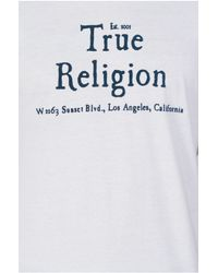 True Religion | White Mens T-shirt for Men | Lyst