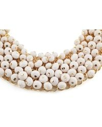 James Lakeland - White Multi Beaded Necklace - Lyst