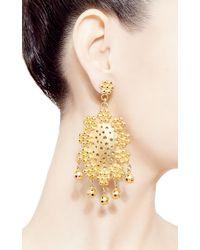 Paula Mendoza - Metallic Tagus Earrings - Lyst