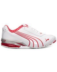 PUMA - White Women'S Cell Jago 8 Running Sneakers From Finish Line - Lyst