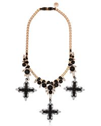 Ellen Conde - Pink Dipped In Rose Gold Necklace - Lyst