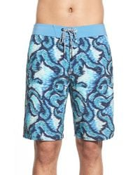 Volcom | Blue 'basque' Board Shorts for Men | Lyst