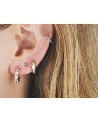 Astrid & Miyu | Metallic The Perfect One In Gold Earrings | Lyst