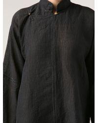 Dosa Black Chinese Jacket