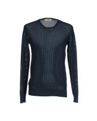 YMC - Blue Sweater for Men - Lyst