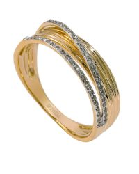 Effy | Metallic D Oro Diamond And 14K Yellow Gold Ring | Lyst