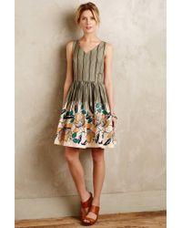 Maeve - Green Lucia Dress - Lyst
