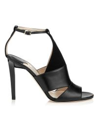 Jimmy Choo Black Timbus 100