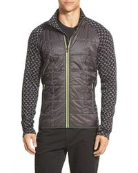 Smartwool | Gray 'phd Propulsion 60' Water Resistant Jacket for Men | Lyst