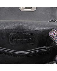 Zadig & Voltaire Metallic XS Skinny Love Glitter-Embellished Shoulder Bag