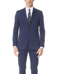Theory Blue Wellar Remsin Jacket for men