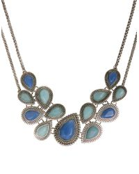 Lucky Brand - Blue Jade Turquoise Collar Necklace - Lyst