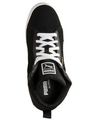PUMA - Black Women'S Classic Wedge Casual Sneakers From Finish Line - Lyst
