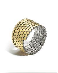 John Hardy | Metallic Dot Multiple Coil Bracelet | Lyst