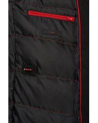 HUGO | Black Down Jacket: 'brisot1' for Men | Lyst