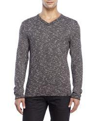 DKNY | Black Space-Dye Sweater for Men | Lyst