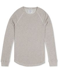 Lucky Brand | Natural Men's Thermal T-shirt for Men | Lyst