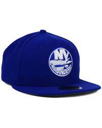 KTZ - Blue New York Islanders C-Dub 59Fifty Cap for Men - Lyst