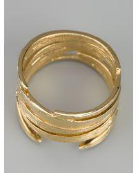 Wouters & Hendrix Metallic Bamboo Ring