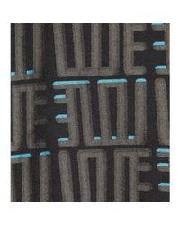 KENZO - Gray Printed Sweatshirt - Lyst