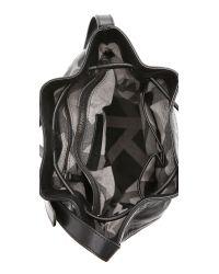 Christopher Kon Woven Bucket Bag - Black