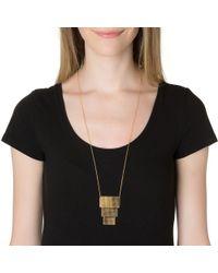 Gorjana | Metallic Mia Tiered Necklace | Lyst