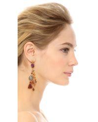 Gas Bijoux | Serti Pondicherie Earrings - Purple Multi | Lyst