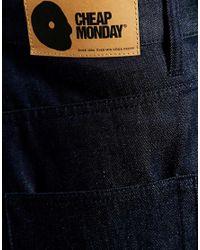 Cheap Monday - Blue 90s Shorts - Lyst