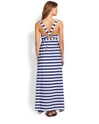 OndadeMar - Blue Utopia Maxi Dress - Lyst