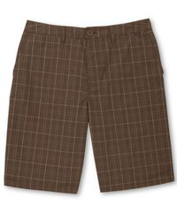 Hurley | Brown Men's Barcelona Walk Shorts for Men | Lyst