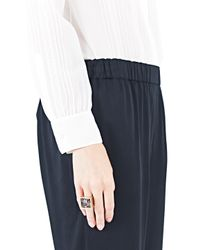 Vionnet | Metallic Pale Gold Glass Ring | Lyst