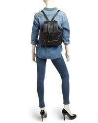 MILLY | Black Backpack - Astor | Lyst