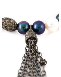 Loree Rodkin | Metallic Mixed Pearl Diamond Bracelet | Lyst