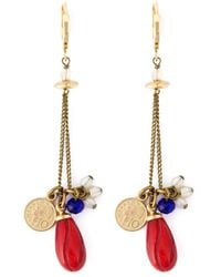 Isabel Marant | Metallic Lucky Charm Earrings | Lyst