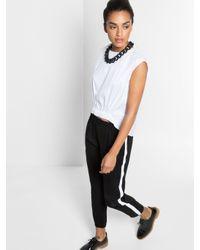 BaubleBar | Black Rolo Chain Matte Collar | Lyst