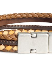 H&M | Brown Four-strand Bracelet for Men | Lyst